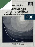 Dartigues Andre El Creyente Ante La Critica Contemporanea
