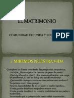 EL MATRIMONIO COMUNIDAD FECUNDA Y EDUCADORA.pdf
