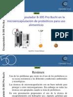 encapsulator Buchi probioticos