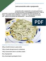 Blog.giallozafferano.it-pasta Al Kamut Con Pesto Prosciutto Cotto e Gorgonzola