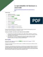 Contabilitatea operatiunilor de fuzionare a societatilor comerciale.doc