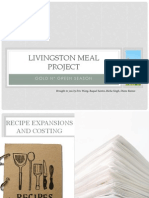 livingston meal project ppt