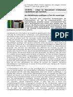 Examen TFLF. Janvier2014 + corrigé