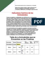 Curso de Bioquimica Temas Desarrollados Hasta La Semana Del 15 Setiembre