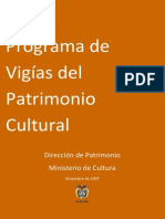 Informe Programa de Vigias 2007