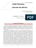Memorias de Africa - ISAK DINESEN.rtf