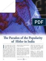 The Paradox of the Popularity of Hitler in India