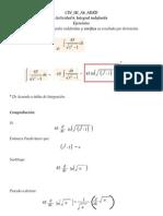 Actividad 6 Solucion de Integral Indefinida