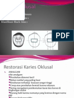 presentation2 Karies Oklusal