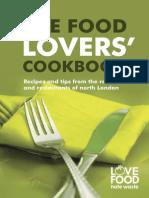 The Food Lovers Cookbook