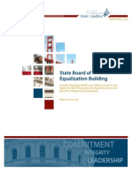 State Auditor's Report on Board of Equalization Building