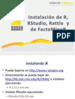 Presentación - Instalación R RStudio Rattle y FactoMineR.6391923