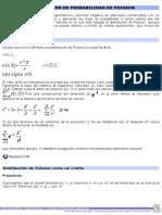 Distribución de Probabilidad de Poisson