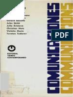 Barthes Roland Kristeva Julia Et Al Lo Verosimil 1968 Copia