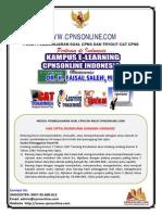 Latihan Soal CPNS