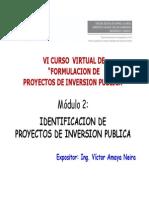 Diapositivas Del Módulo de Identificación de Proyectos - OTE CR
