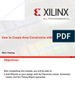 How to Create Area Constraints With Planahead