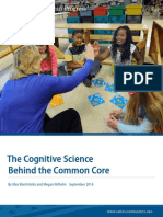 The Cognitive Science Behind the Common Core