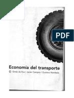 Economía del transporte - Ginés de Rus