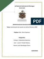 Autenticacion Con ActiveDirectory