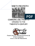 Rexroth Kenneth - Communalism, From Its Origins