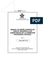 Manual Discurricular