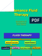 Maintenance Fluid