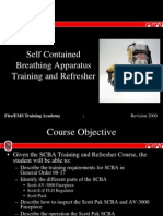 SCBA Refresher Training