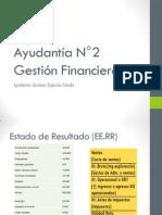 Ayudantía N°2 Gestión Financiera