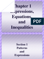 chapter 1 1-patterns and expressions