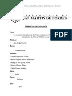 La evolución Constitucional del Poder Judicial en el Perú desde la Constitución de 1823 a 1993.Influencias