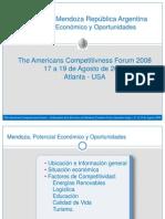 Mendoza Potencial Economico