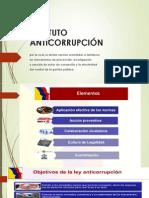 ESTATUTO ANTICORRUPCIÓN