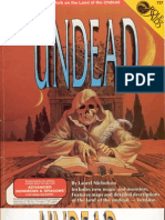 Role Aids - Undead
