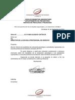Informe Pedagógico - Derecho