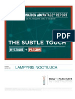 Lampyris Noctiluca Fascination Advantage Report
