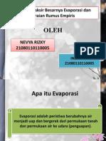 Evaporasi (Nevya r & Indriyani)