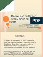 Mortalidad en México Según Datos Del INEGI 2011