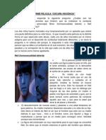 Cuestionario Pelicula Oscura Inocencia Pamela Chuquiconcor Cueva TFYR