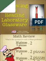 Reading Glassware Lab