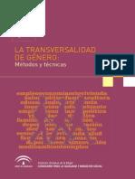 Transversalidad- Métodos y Técnicas. JJAA
