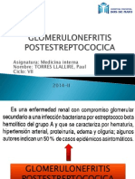 glomerulonefritispostestreptococica