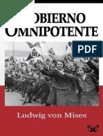 Gobierno Omnipotente de Ludwig Von Mises r1.0