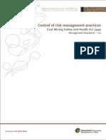 Control of Risk Management