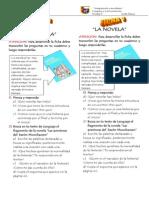 Ficha 1 La Novela