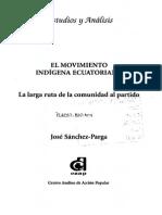 El Movimiento Indígena Ecuatoriano