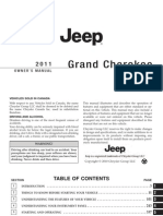 Jeep GC 2011 Owners Manual