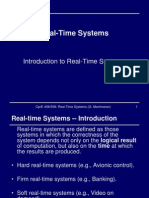 Introduction to Realtime Systems