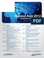 Subseaasia 2012 Program