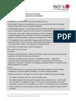 Hepatitis B Fact Sheet Notthebest